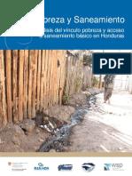 Pobreza y Saneamiento en Honduras