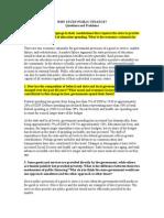 Why Study Public Finance Ch1