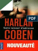 Sans Laisser d'Adresse - Harlan Coben