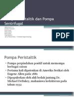 Pompa Peristaltik Dan Pompa Sentrifugal