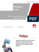 MSTP+ Product Overview V200R011-20101110-A