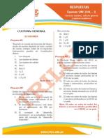 Respuestas Uni2014II Aptitud