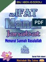 Sifat Mandi Janabah Menurut Sunnah