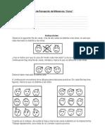 "Test de Percepción de Diferencias ""Caras"""