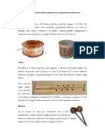 Instrumentos Musicales de La Selva