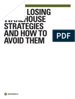 Top 10 Losing Warehouse Strategies and How to Avoid Them