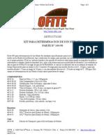 Kit Para Determinacion de Ion Nitrato