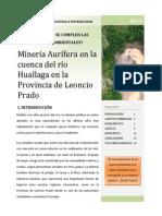 Normas Ambientales - Minería aurífera - Leoncio Prado