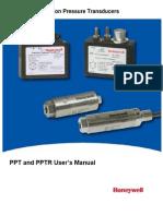 Precision Pressure Transducer (PPT PPTR)