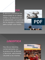 1.- INTRODUCCION, LOGISTICA