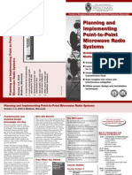 Planning and Implementing Point-To-Point Microwave Radio Systems