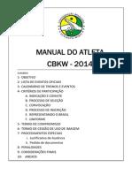 CBKW 2014 Manual Atleta