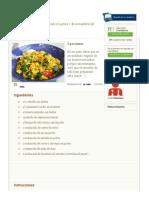 2.Tofu Revuelto en HazteVegetariano