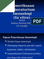 Pemeriksaan Lab Invitro Imunologi 1