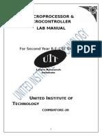 Mpmc Lab Manual Pdf