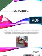 Barrido Manual y Mecanico
