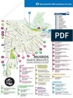 Mapa de Museos de Lima  - Noche de los Museos