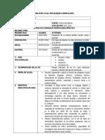Plan Anual de Dibujo Tecnico 1ro Bachillerato