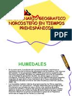 Escenario Norcosteño Prehispanico