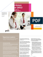 Pwc Hospitality Customer Insights Us Experience Radar 2012