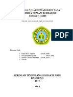 Hematokrit Pada Penderita DBD.docx