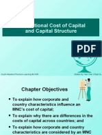 Chapter 17. Multinational Cost of Capital and Capital Structure