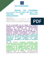 INVESTIGACIÓN - Modelo Económico - Modelo Político - Extractivismo - Gasto Público - Deuda Externa - El Correísmo Al Desnudo EXC