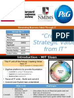 IT for stratergy