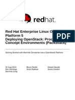 Red Hat Enterprise Linux OpenStack Platform-5-Getting Started Guide-En-US