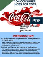 Coca Cola Mba 3rd Sem Ppt
