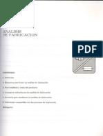 Capitulo VI Analisis de Fabricacion PDF