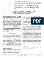 Improvement of Signal Coverage Using WCDMA Signal Repeater for 3G Systems