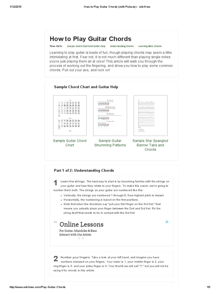Guitar chords for let it be gallery guitar chords examples how to play guitar chords with pictures wikihowpdf string how to play guitar chords with pictures hexwebz Images