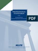 NCATE Standards 2008