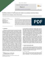 Buckling Analysisofmicro Nanoscaleplatesvianonlocalelasticitytheory