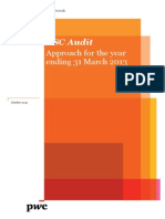 BSC Audit Approach Year Ending 31 March 2013 Public Version Final, A2