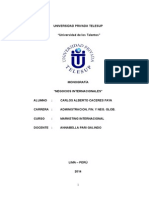 Monografia Final Marketing Internacional