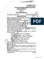 IES Electronics Telecommunication Conventional Paper 2014