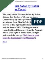 118The Tikkunei Zohar by Ra... and Space Tikkun#6..