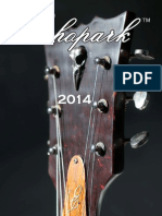 Echopark Guitars 2014 Catalog-download