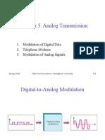 Chap5 Analog Transmission