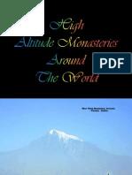 High Altitude Monasteries Around the World