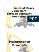 Maintenance of Heavy Equipment.ppt