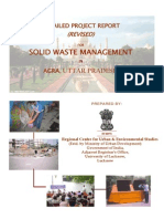 Report on solid waste management agra