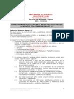 Norma_Administratriva MSPAS Galletas