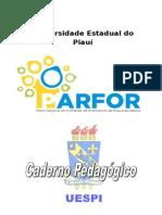 Caderno Pedagogico PARFOR - 2015.1 - UNIÃO