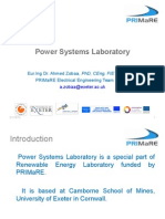 Power Systems Laboratory