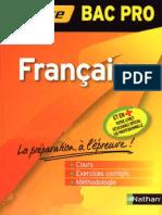 Bac Pro - Français, La Préparation à l'Épreuve