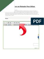 Como Configurar Um Roteador Para Utilizar DHCP