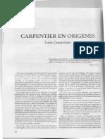 Carpentier en la revista Orígenes (sobre el intercambio epistolar del escritor con los directores de la revista)